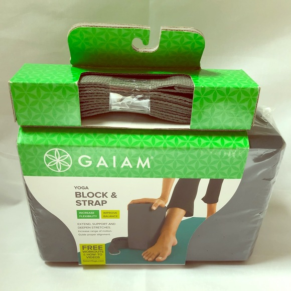 Gaiam Other Yoga Block Strap Package Poshmark